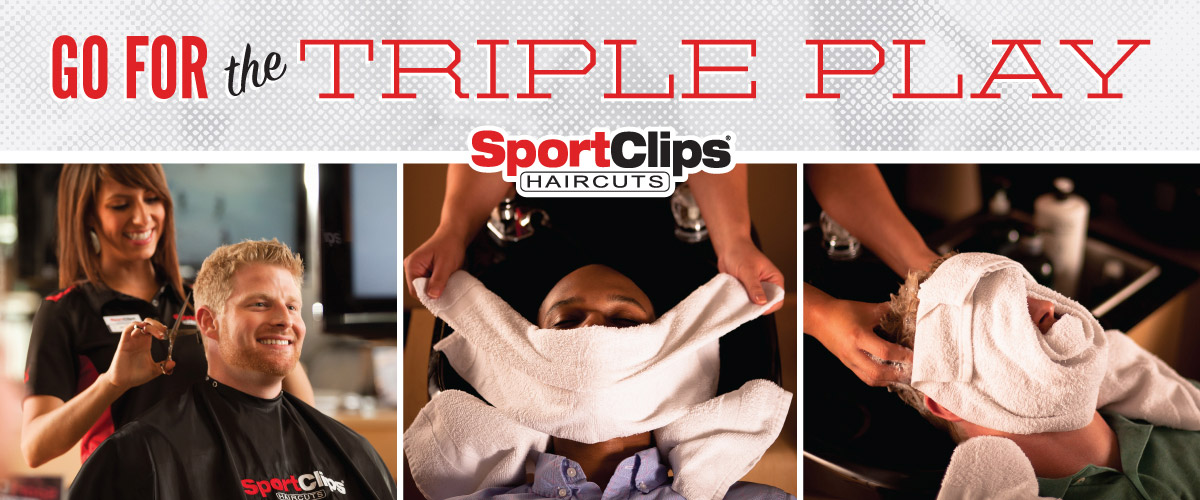 The Sport Clips Haircuts of Woodmen Plaza Triple Play